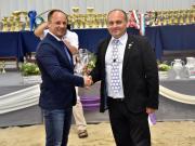 A MÁSZ tenyésztői nagydíját Holló Mátyás uszódi juhtenyésztő kapta
