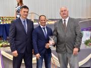 A MÁSZ tenyésztőszervezeti díját a Magyar Hidegvérű Lótenyésztő Országos Egyesület kapta