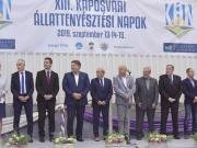 A megnyitó ünnepségen az egyetem, a város, a szakmapolitika jeles képviselői vettek részt