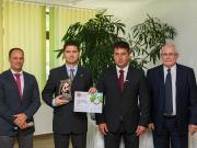 A Nagydíjat az Agrofeed Kft kapta (Magyar Mezőgazdaság/Csatlós Norbert)