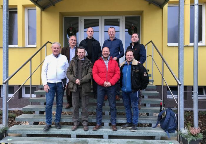 Jobbról balra felső sorban: Mihalecz András, Josef Kucera, Kamil Malát, Füller Imre Alsó sorban jobbról balra: Szűcs Márton, Wagenhoffer Zsombor, Kovács Mesterházy Zoltán, Stefler József